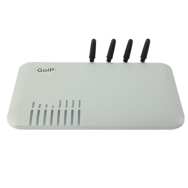 GoIP4 VoIP-GSM-шлюз (GSM/SIP/H323)