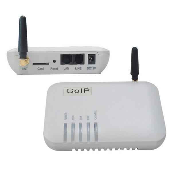 GoIP GS-1 - VoIP шлюз